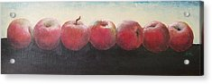 Acrylic Print featuring the painting One A Day by Jane  See