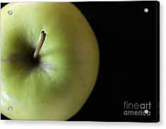 One Apple - Still Life Acrylic Print by Wendy Wilton