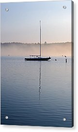 Acrylic Print featuring the photograph One Autumn Morning by Chuck De La Rosa