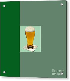 First Beer On The Wall Acrylic Print by Tina M Wenger