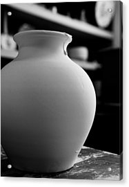One Earthenware Jug  Acrylic Print