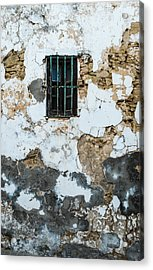 One Eyed Wall Acrylic Print by Piet Scholten