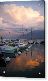 One Fine Evening Acrylic Print by Colleen Williams