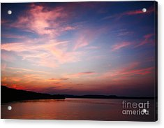 Acrylic Print featuring the photograph One Fine Sunset by Polly Peacock