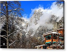 One Fine Winter Morning 2 Acrylic Print by Theresa Ramos-DuVon