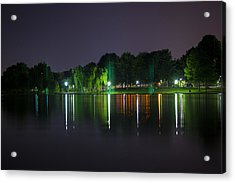 One Foot Lake Acrylic Print by Michael Williams