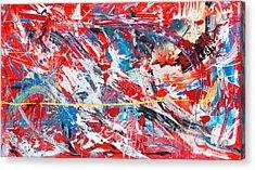 One Hundred Phoenixes Acrylic Print
