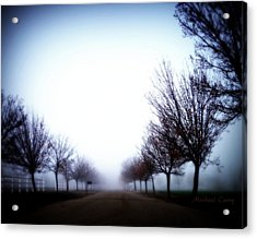 One Mile To Nowhere Acrylic Print by Michael Curry
