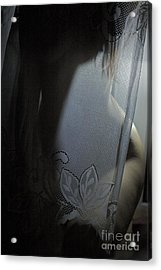 One More Night - So I Cross My Heart And I Hope To Die -that I'll Only Stay With You One More Night. Acrylic Print