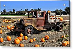 Acrylic Print featuring the photograph One More Pumpkin by Michael Gordon