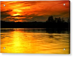 One More Sunset Acrylic Print