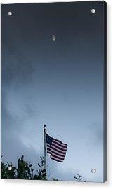One Nation Under God Acrylic Print by Jim Tobin