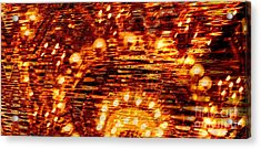 One Night In Paris - Abstract Art Acrylic Print by Carol Groenen