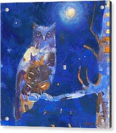 One Night In Taos Acrylic Print