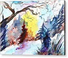 One Of These Mornings Acrylic Print