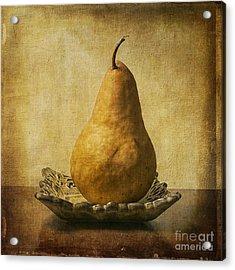 One Pear Meditation Acrylic Print