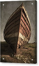One Proud Boat Acrylic Print by Svetlana Sewell