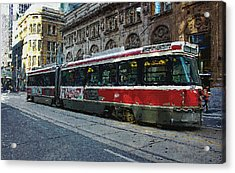 One Queen East Acrylic Print by Nicky Jameson