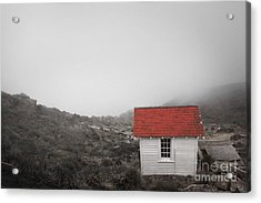 Acrylic Print featuring the photograph One Room In A Fog by Ellen Cotton
