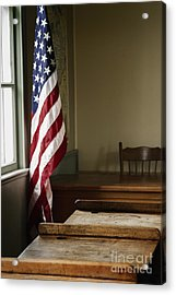 One Room School Acrylic Print