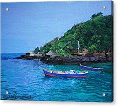 One Scenery Of Praia De Joao Fernandinho Acrylic Print