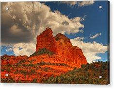 One Sedona Sunset Acrylic Print