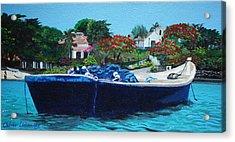 One Senery Of Praia Dos Ossos Acrylic Print