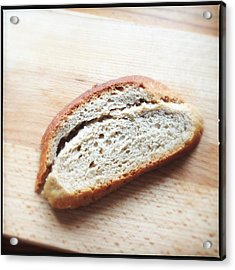 One Slice Of Bread Acrylic Print by Matthias Hauser