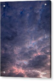 Finally It Rained In Texas Acrylic Print