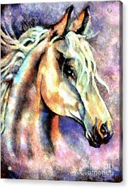 One Spirit Acrylic Print by Janine Riley