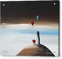 One Step To Heaven By Shawna Erback Acrylic Print
