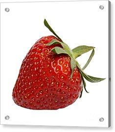 One Strawberry Acrylic Print