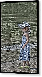 One Summer Day In A Child's  Life Acrylic Print