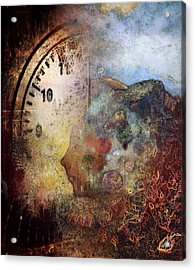 One Thought Fills An Immensity  Acrylic Print by Dan Hill