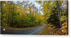 One Way On Pierce Stocking Drive Acrylic Print