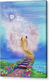 One Way To God Acrylic Print by Susanna  Katherine