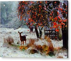 One Winter Morning Acrylic Print by Kai Saarto