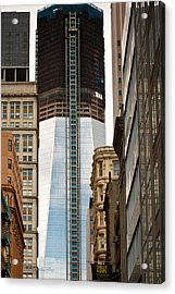 Acrylic Print featuring the photograph One World Trade Center #2 by Ann Murphy