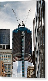 Acrylic Print featuring the photograph One World Trade Center by Ann Murphy