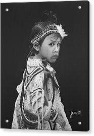 Oneida Girl Acrylic Print