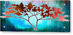 Acrylic Print featuring the mixed media Oneness by Jaison Cianelli