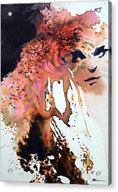 Acrylic Print featuring the painting Onesti by Ed  Heaton