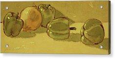 Onion And Bells Acrylic Print