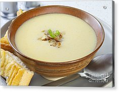 Onion Soup Acrylic Print by Colin and Linda McKie