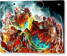 Oniric - 2 Acrylic Print by Bernard MICHEL