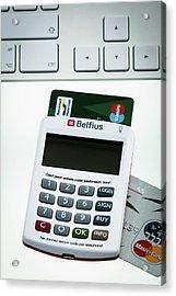 Online Banking Acrylic Print