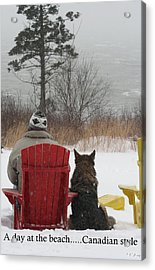 Only In Canada Acrylic Print