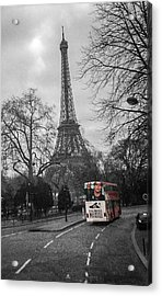 Only In Color Acrylic Print by Steven  Taylor