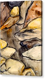 Only Rocks Acrylic Print