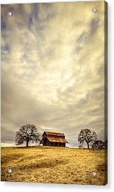 Ono Barn Acrylic Print by Randy Wood